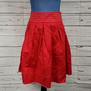 NWT Red Full Pleated Speechless Skirt